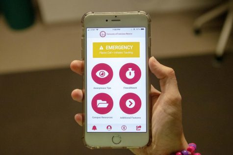 University Police designs app for  student protection
