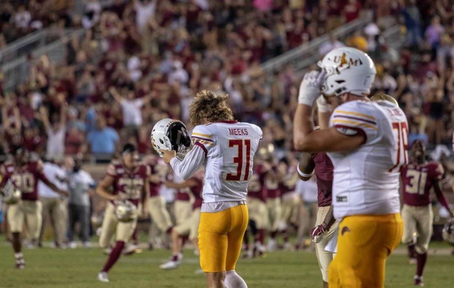 Warhawks play big, dream big, come up short against Seminoles