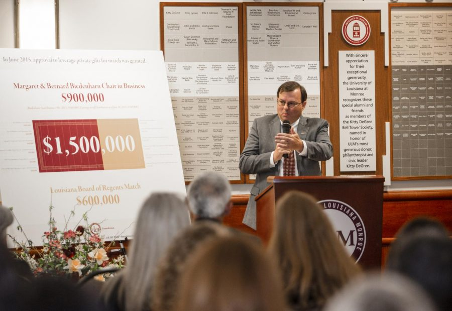 ULM+receives+funds+from+board+of+regents