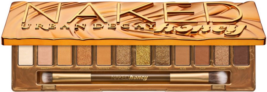 Naked Honey Eyeshadow palette made for fall