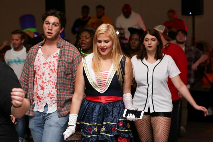 Students show creativity at Halloween Ball