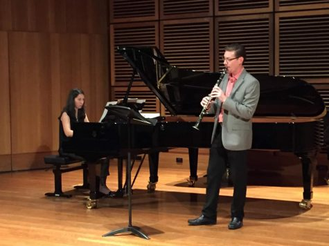 Clarinet professor performs around the world