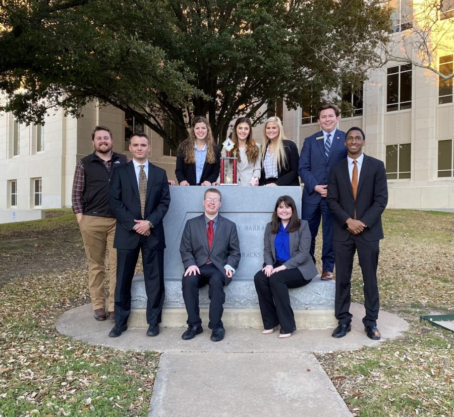 Mock trial maroon team places 3rd at competition