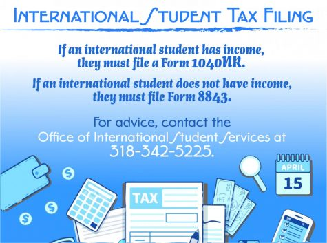 Tax filing vital for international students' future