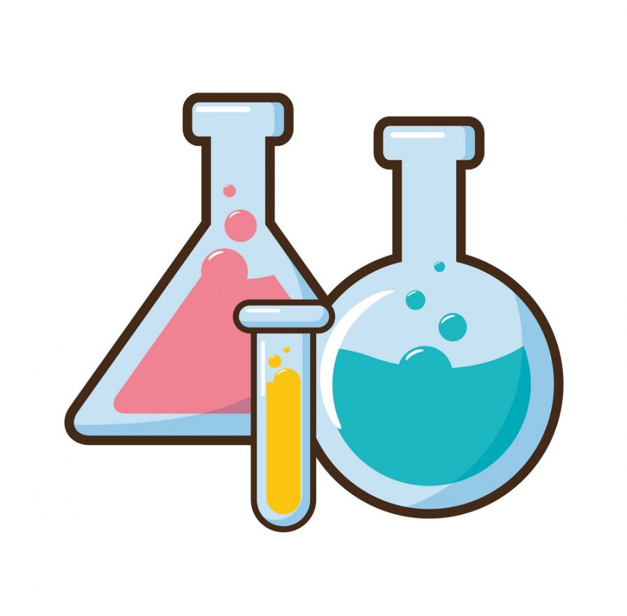 test+tubes+glassware+science+laboratory+vector+illustration
