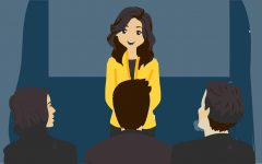 Elevator pitch teaches vital speaking skills