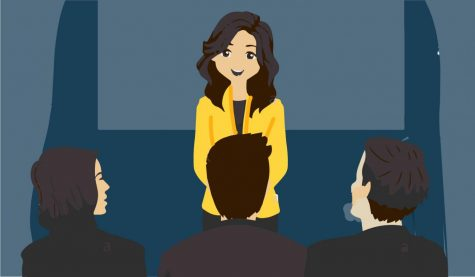 Elevator pitch teaches vital speaking skills