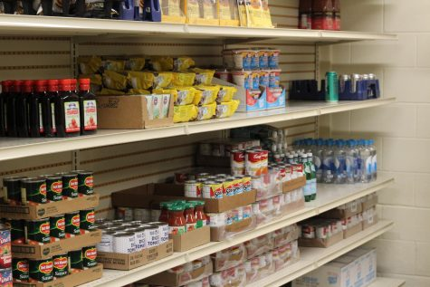 Food pantry opens again, available to all students
