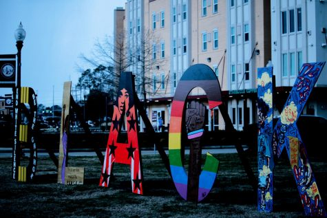Local artists bring Black Lives Matter message to campus