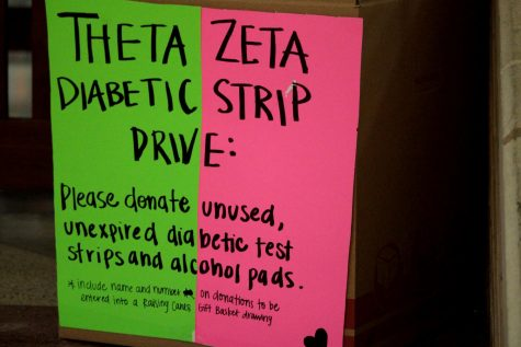 Students fight diabetes with test strip drive