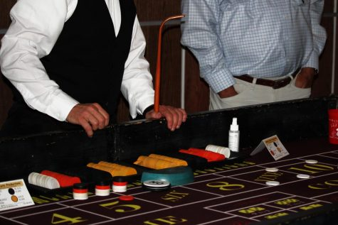 Warhawks 'cash out' at Casino Night