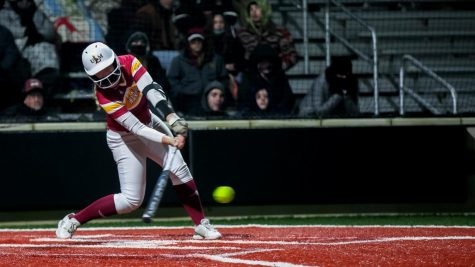 Softball rallies to take doubleheader