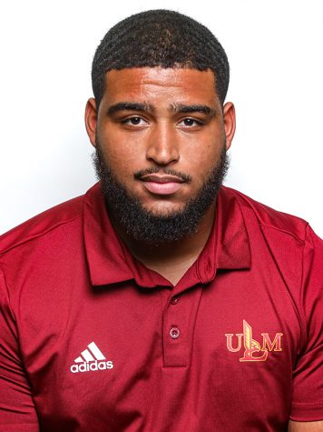 Football Headshots 2019-2020 by Emerald McIntyre/ULM Photo Services
