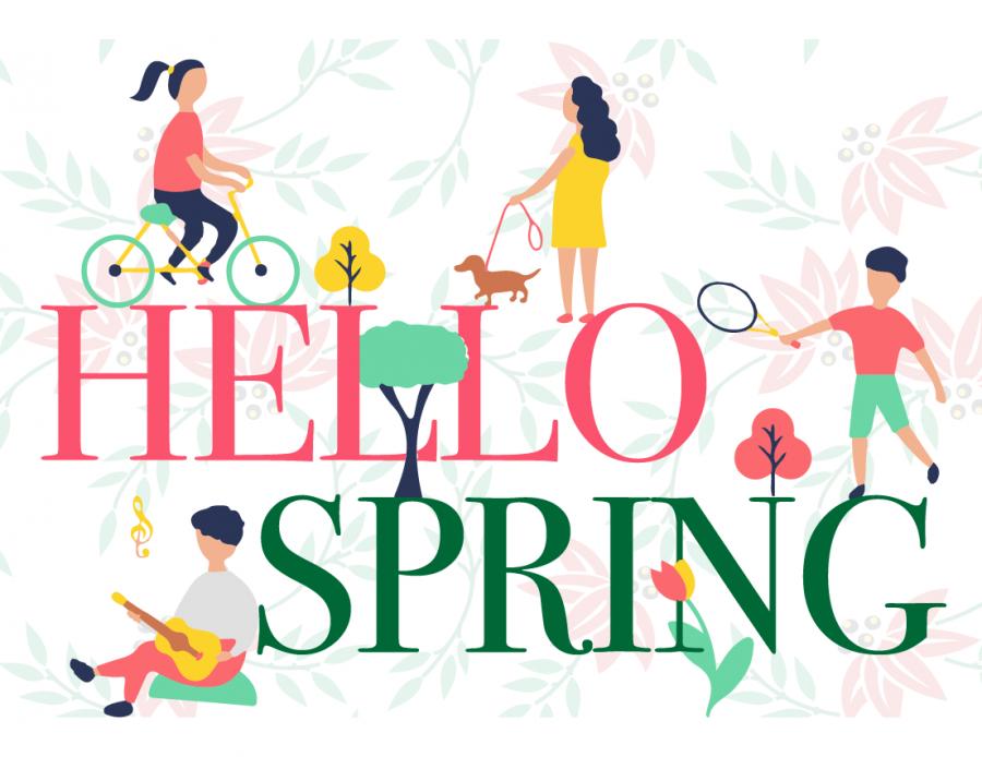 Warhawks share ways to spend spring break