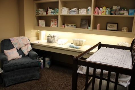 Library introduces lactation station for mothers on campus