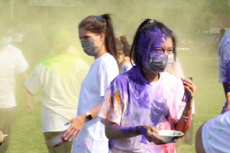 ULM celebrates love with Holi