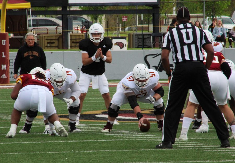 ULM turns new leaf in inter-team spring game