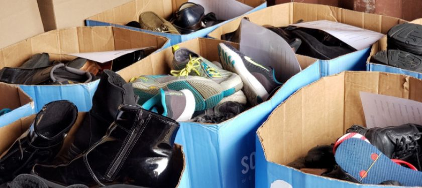 Alpha+Kappa+Alpha+partners+with+nonprofit+to+donate+shoes