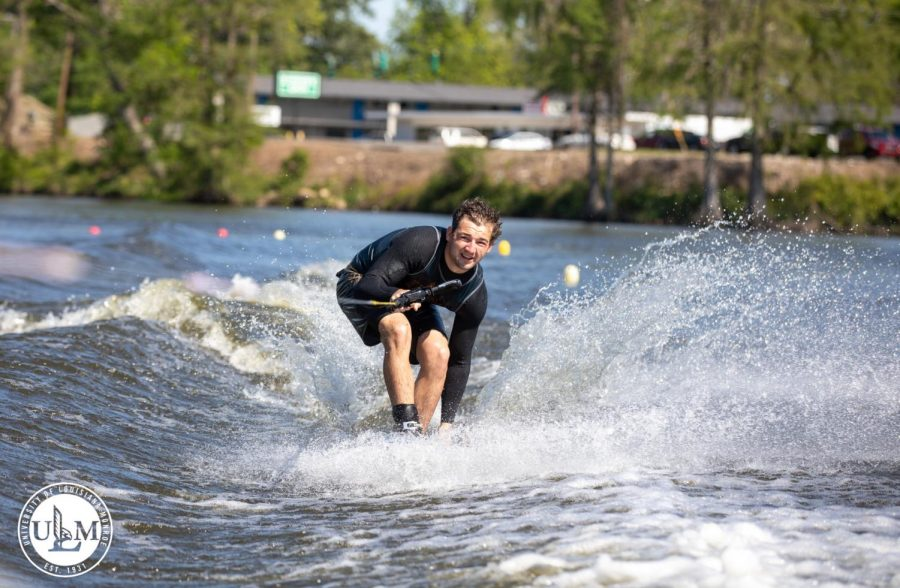 Water ski team dazzles at spring fever showcase