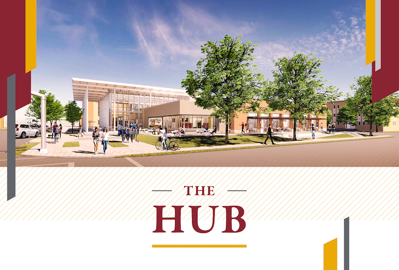 HUB to replace SUB, set to open Fall 2022