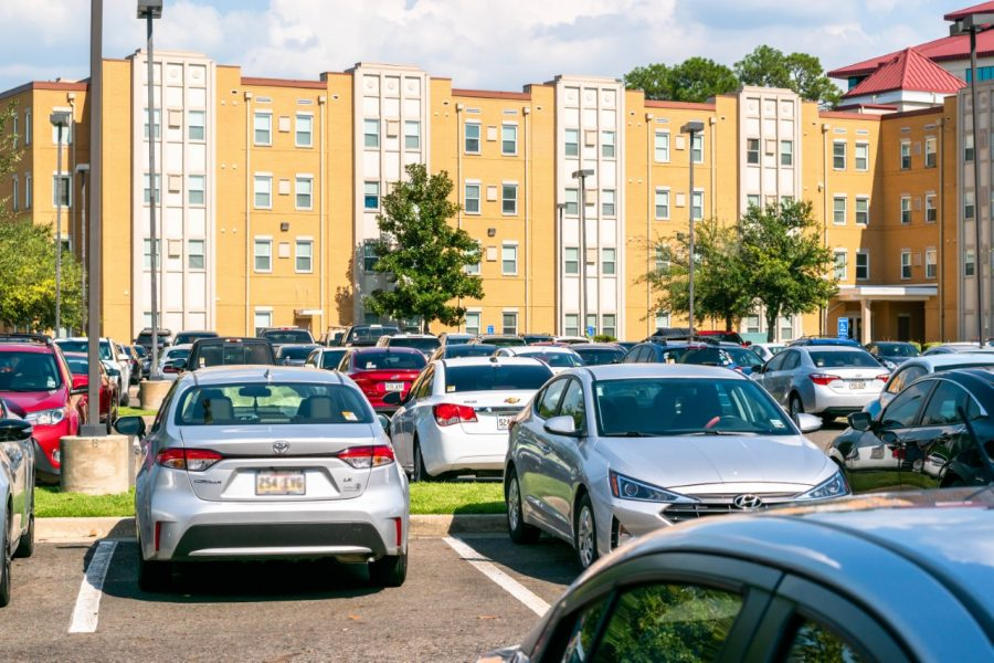 Parking worsens with HUB construction