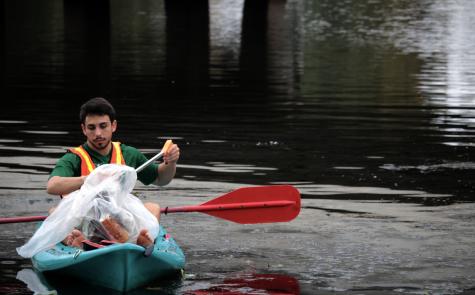 Ouachita Green cleans up Bayou Desiard