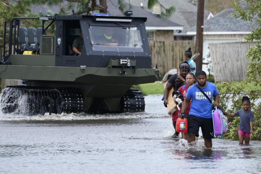 Hurricane Ida makes landfall, relief begins