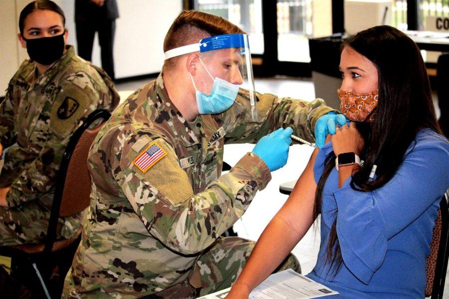 Gov. Edwards visits ULM to promote COVID vaccine