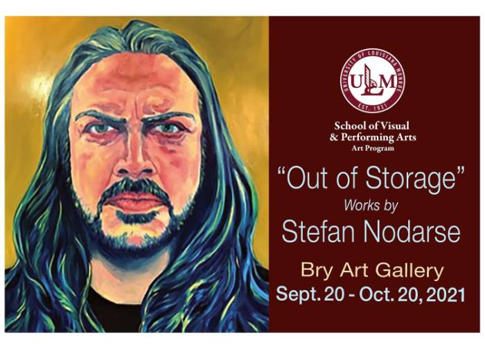 Nodarse brings artwork out of storage for Bry Art Gallery exhibit
