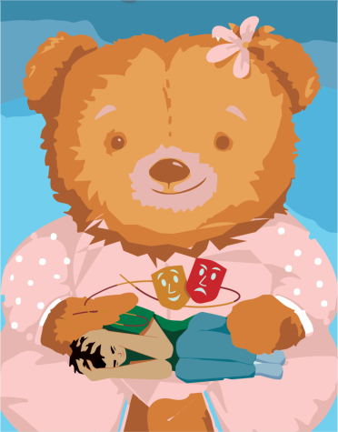 Collecting stuffed animals can be used to cope